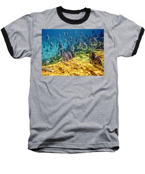 Oceans Below Baseball T-Shirt
