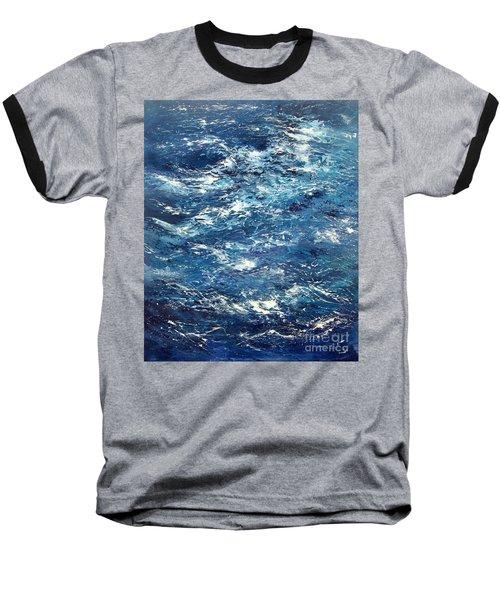 Ocean's Blue Baseball T-Shirt