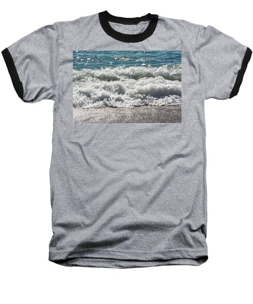 Baseball T-Shirt featuring the photograph Oceans Layers by Colleen Coccia