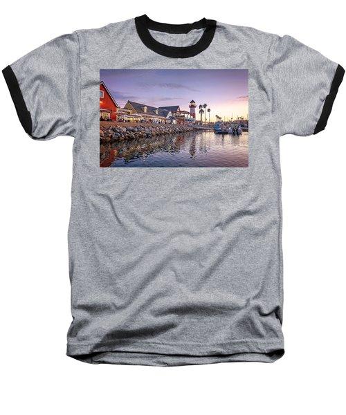Oceanside Harbor Baseball T-Shirt