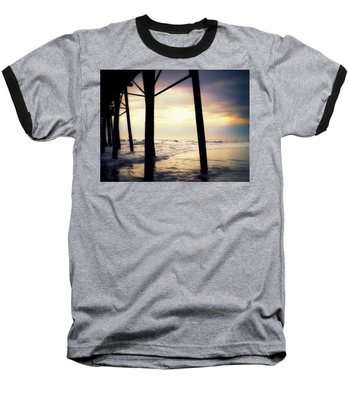 Baseball T-Shirt featuring the photograph Oceanside - Late Afternoon by Glenn McCarthy