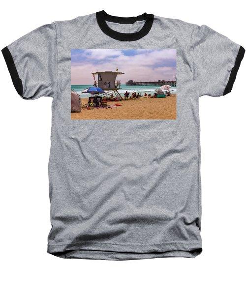 Oceanside Lifeguard Baseball T-Shirt