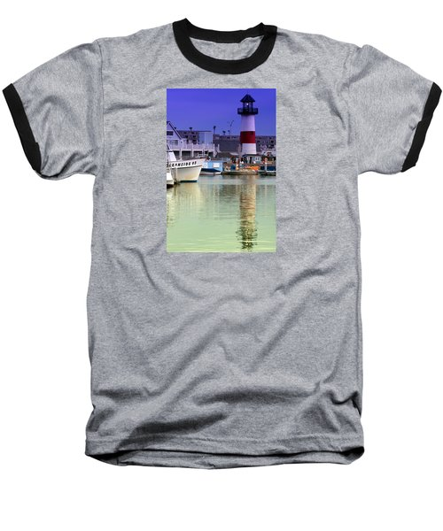 Oceanside Light Baseball T-Shirt