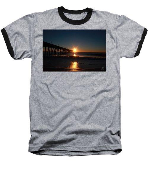 Oceanview Sunrise Baseball T-Shirt