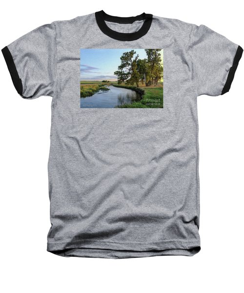 Ocheyedan Evening Baseball T-Shirt