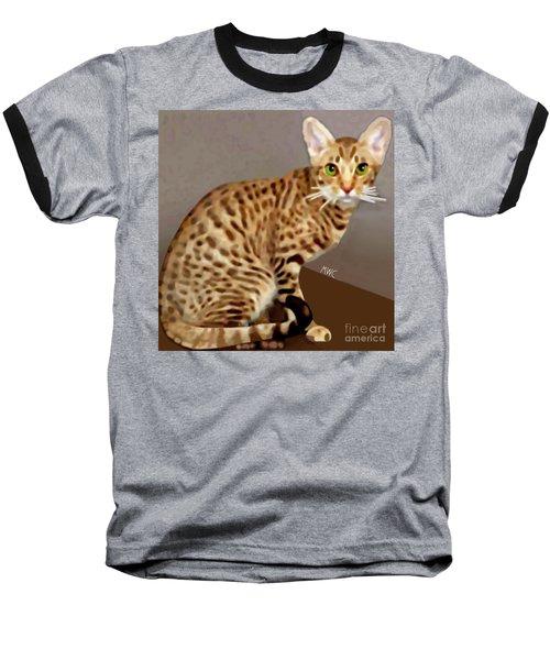 Ocicat Baseball T-Shirt