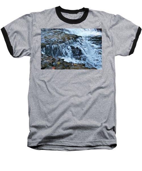 Ocqueoc Falls_9542 Baseball T-Shirt by Michael Peychich