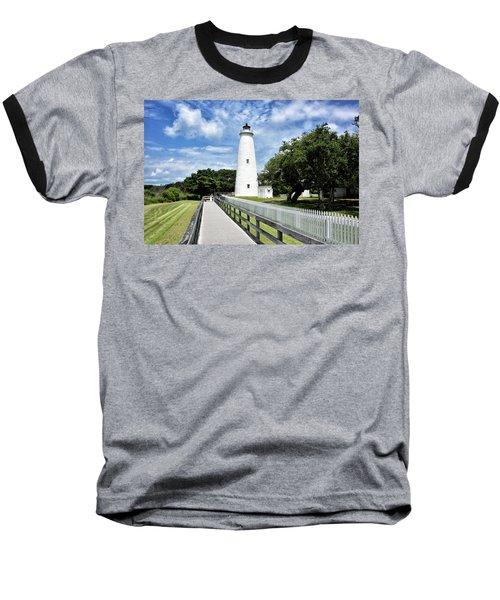 Ocracoke Light Baseball T-Shirt