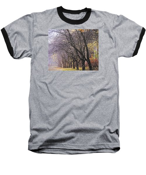 Baseball T-Shirt featuring the photograph October 3 by Vladimir Kholostykh