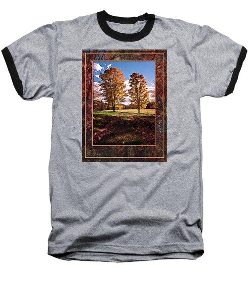 October Afternoon Beauty Baseball T-Shirt