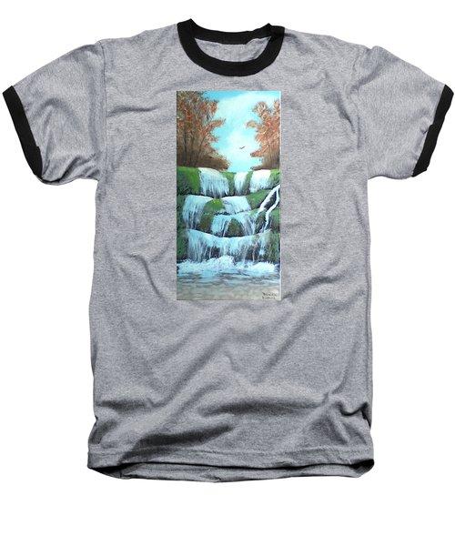 October Falls Baseball T-Shirt