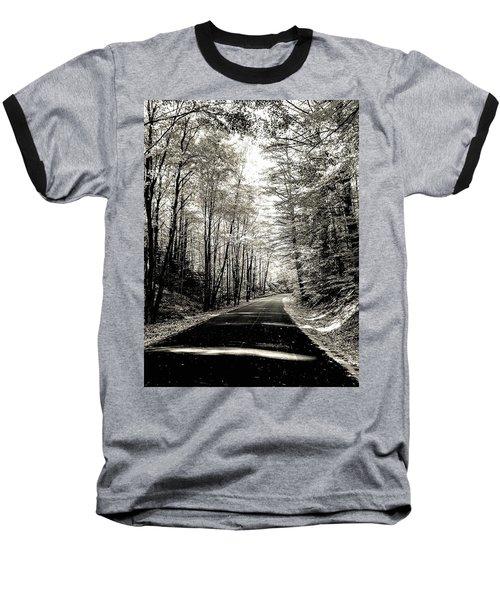 October Grayscale  Baseball T-Shirt