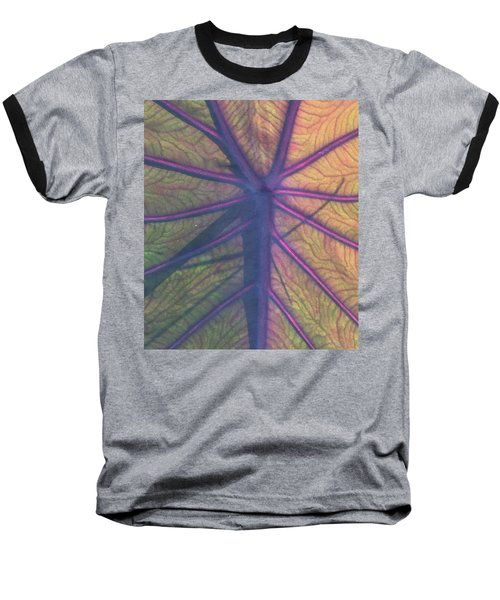Baseball T-Shirt featuring the photograph October Leaf by Peg Toliver