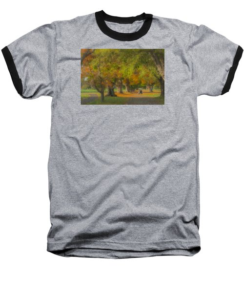 October Morning At Easton Country Club Baseball T-Shirt