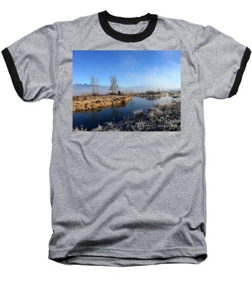 October Morning Baseball T-Shirt by Victor K