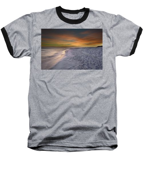 Baseball T-Shirt featuring the photograph October Night by Renee Hardison