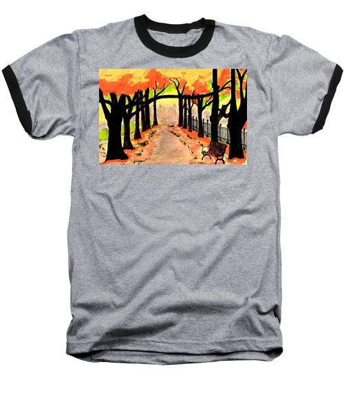 October- Salem Common Baseball T-Shirt