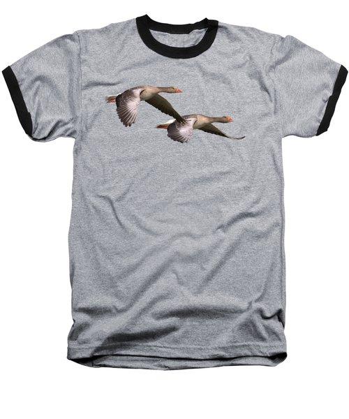 October Skies Baseball T-Shirt