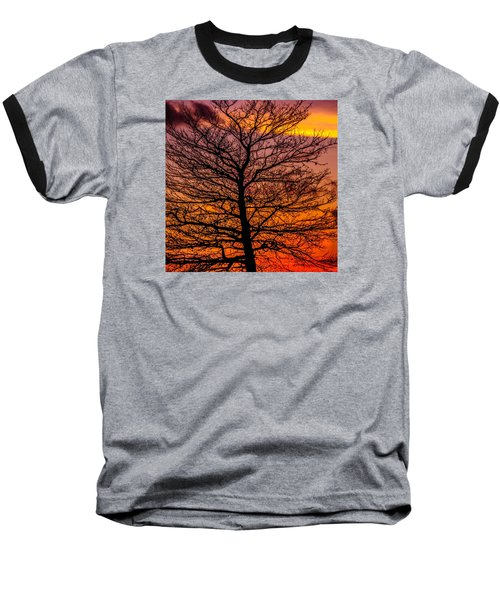 October Sky Baseball T-Shirt