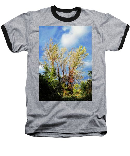 October Sunny Afternoon Baseball T-Shirt