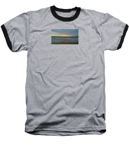 October Sunrise Baseball T-Shirt by Anne Kotan