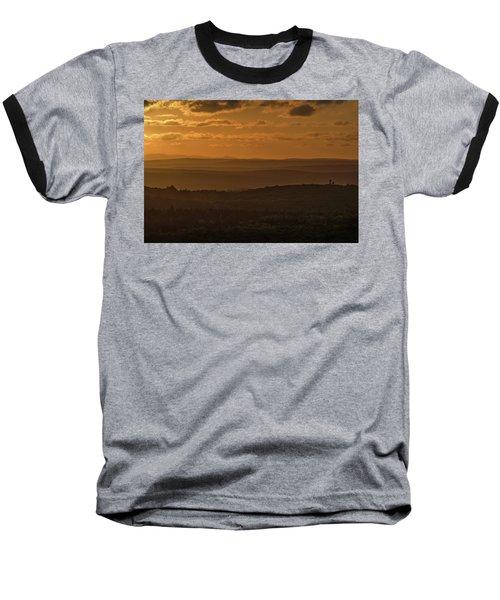 October Sunset In Acadia Baseball T-Shirt