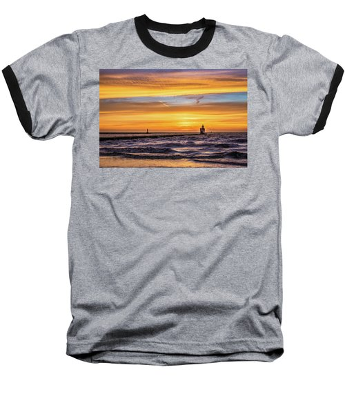 Baseball T-Shirt featuring the photograph October Surprise by Bill Pevlor