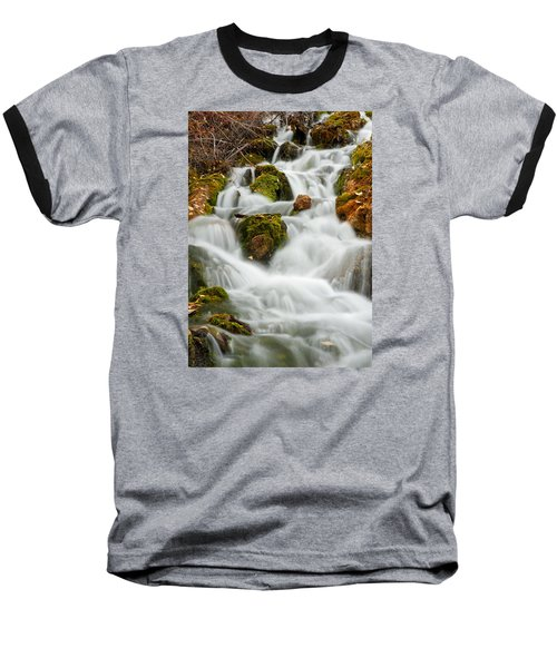 October Waterfall Baseball T-Shirt