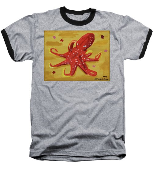Octopus Baseball T-Shirt