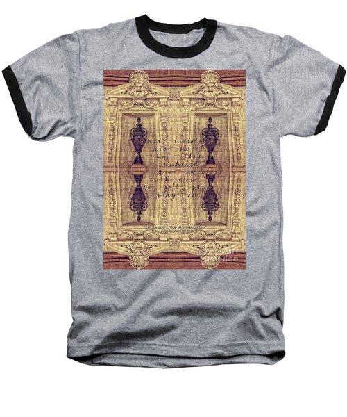 Ode To A Grecian Urn Palais Garnier Paris France Baseball T-Shirt