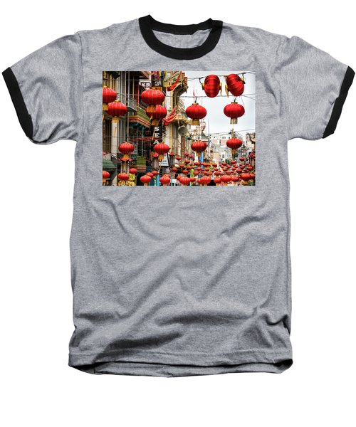 Red Lanterns Baseball T-Shirt