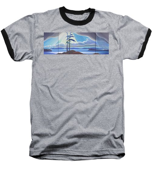 Ode To The North II Baseball T-Shirt