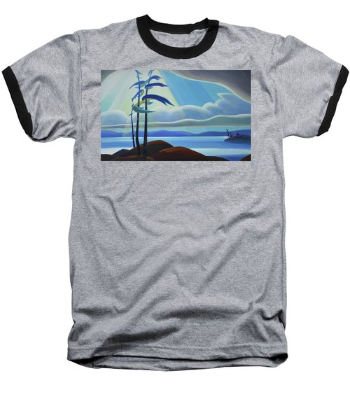 Ode To The North II - Center Panel Baseball T-Shirt