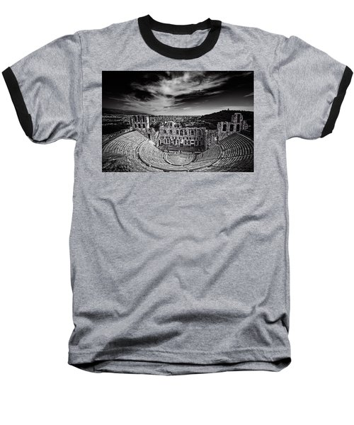 Odeon Of Herodes Atticus Baseball T-Shirt