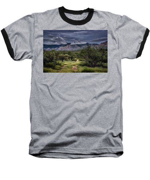 Odyssey Into Clouds Baseball T-Shirt