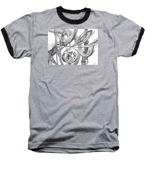 Of Another Plane Baseball T-Shirt by Charles Cater