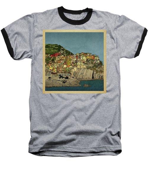 Of Houses And Hills Baseball T-Shirt