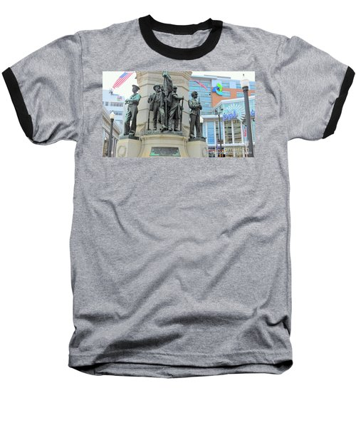 Of Soldiers And Sailors Baseball T-Shirt