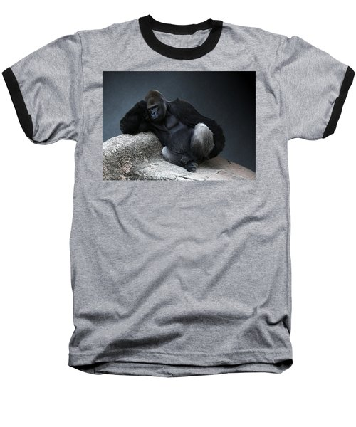 Off Duty Gorilla Baseball T-Shirt
