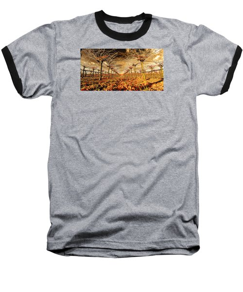 Baseball T-Shirt featuring the photograph Off Of The Vine by Steve Siri