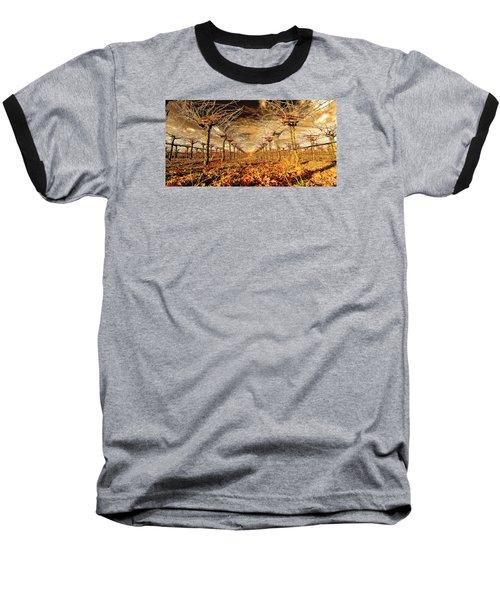Off Of The Vine Baseball T-Shirt by Steve Siri