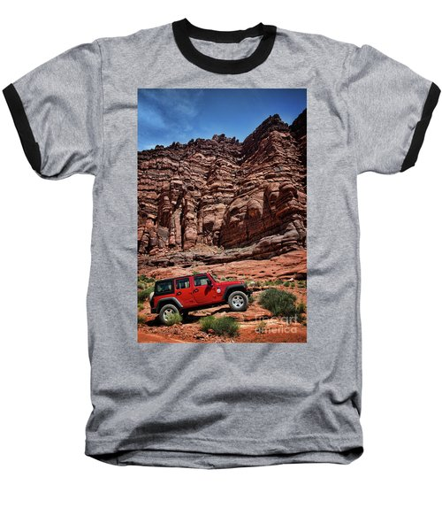 Off Road Adventure Baseball T-Shirt