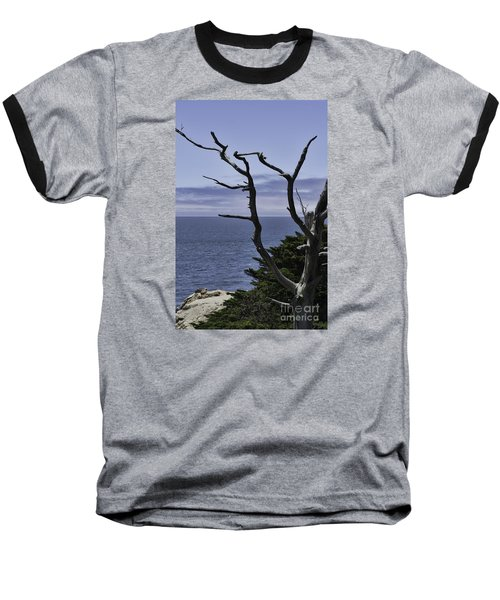 Baseball T-Shirt featuring the photograph Off Shore by Judy Wolinsky