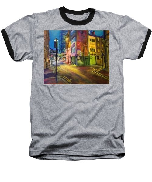 Off Shudehill Manchester Baseball T-Shirt