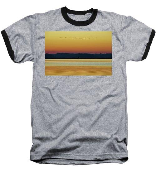 Off To Florida Baseball T-Shirt by William Bartholomew