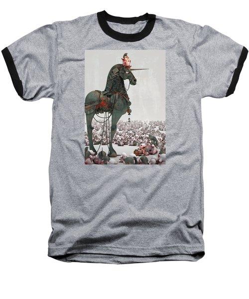 Baseball T-Shirt featuring the digital art Offering by Te Hu
