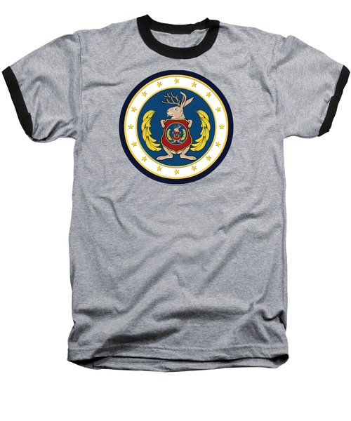Official Odd Squad Seal Baseball T-Shirt by Odd Squad