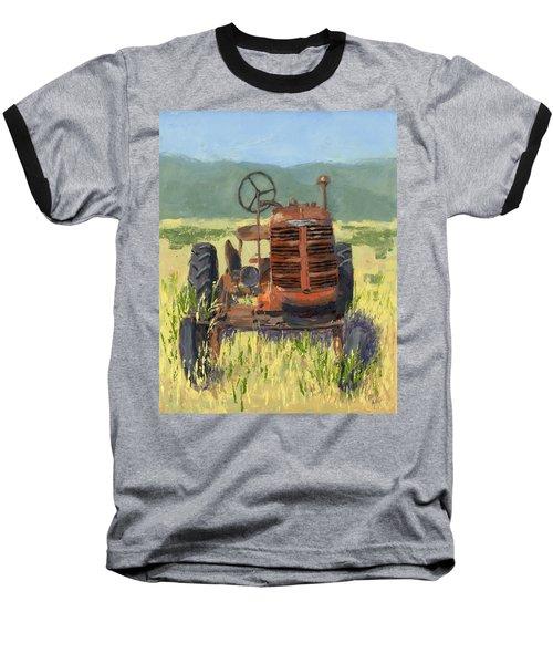 Offset High Crop Baseball T-Shirt