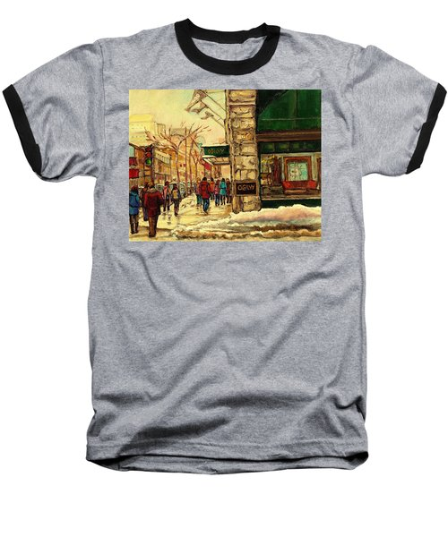 Ogilvys Department Store Downtown Montreal Baseball T-Shirt