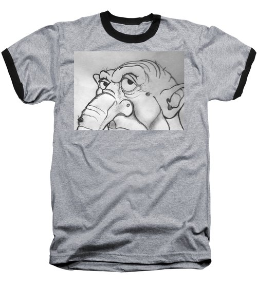 Ogre Sketch Baseball T-Shirt